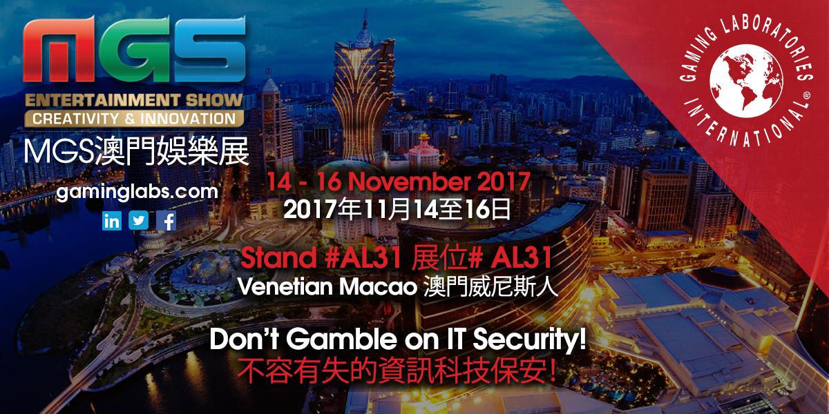 Visit GLI at the Macao Gaming Show