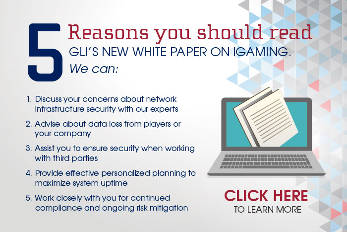 Download the GLI iGaming White Paper